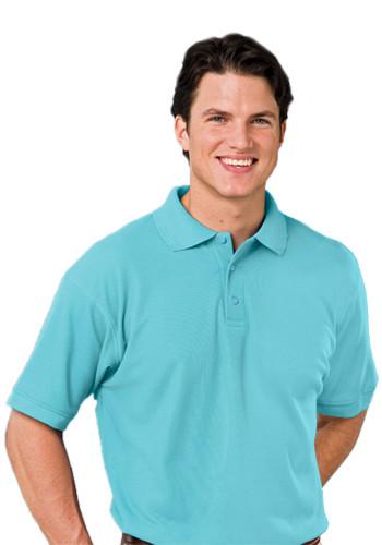 Blue Generation Mens Value Soft Touch Polo Shirts   BGEN7500