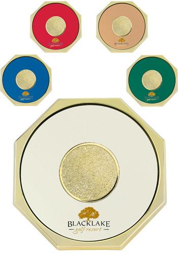 Custom Octagon Coasters