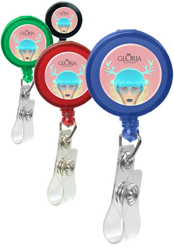 Customized Retractable Badge Holders with Alligator Clip