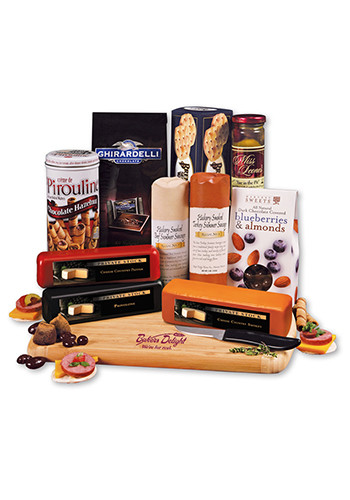 Custom Shelf-Stable Extravagant Affair Cheese Packages
