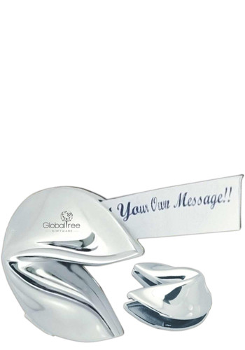 Promotional Silver Hinged Fortune Cookies