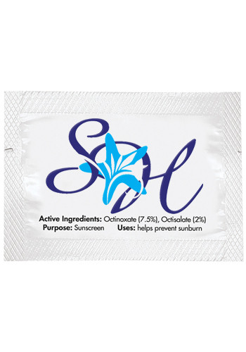 Bulk SPF-15 Sunscreen Lotion Packets