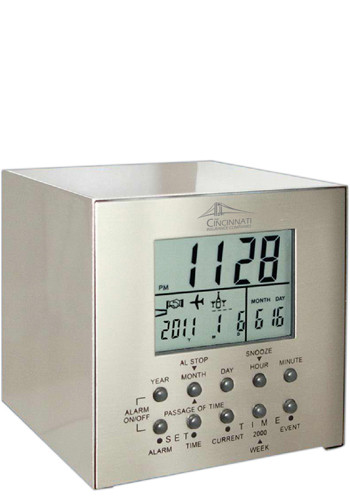 Wholesale Stainless Steel Cube Countdown Clocks