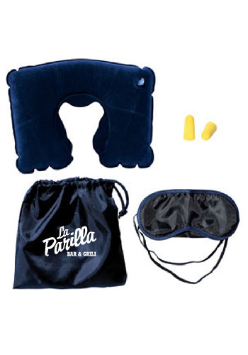 Travel Pillow Kits With Ear Plugs