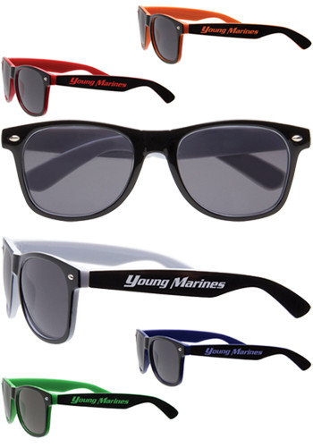 Two-Toned UV Protection Sunglasses