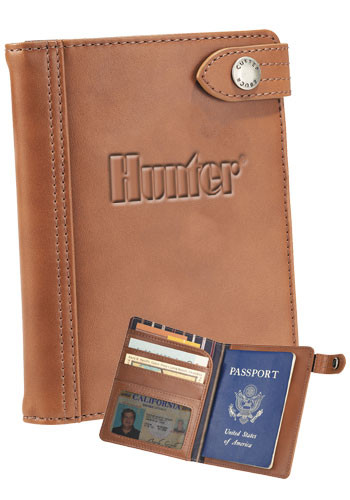 Customized Cutter & Buck Legacy Passport Wallets