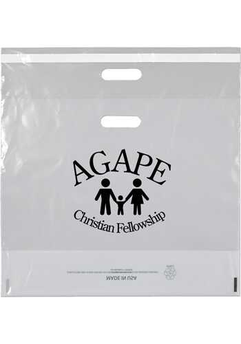 Custom Defender Clear Plastic Bags