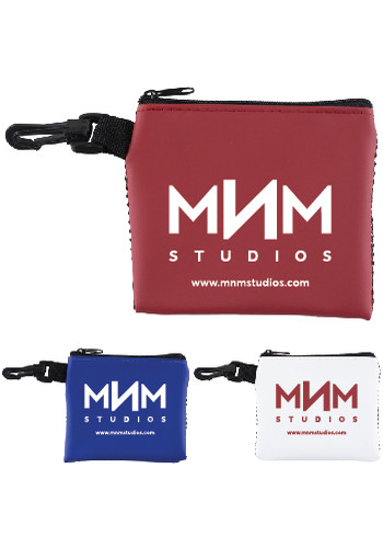 Personalized Delos Mesh Zipper Storage Pouches