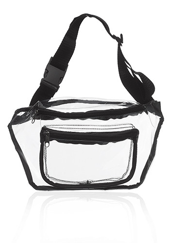 Personalized Discover Clear Fanny Packs