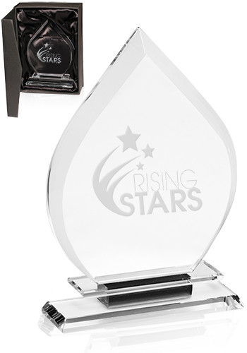 Customized Flame Crystal Awards