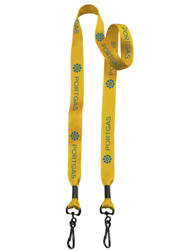 Double Ended Lanyards with Metal Crimp and Lobster Claws   SULS34M2MB3