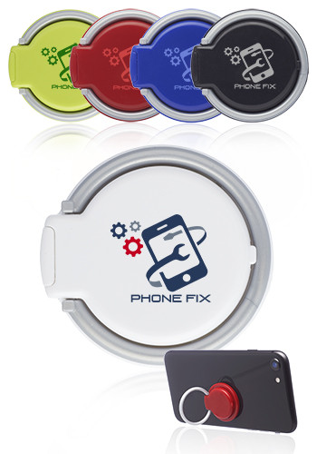 Customized Eclipse Plastic Ring Cellphone Holders