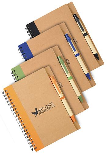 Custom Eco Spiral Notebooks