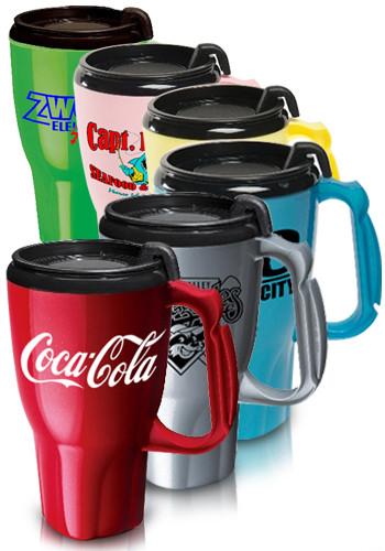 Promotional 16 oz. Twister Travel Mugs