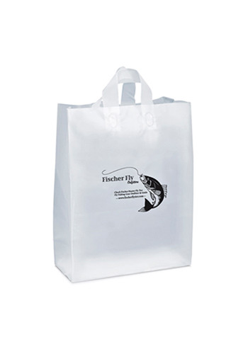 Shopping Frosted Plastic Bags | BM35HDW1619