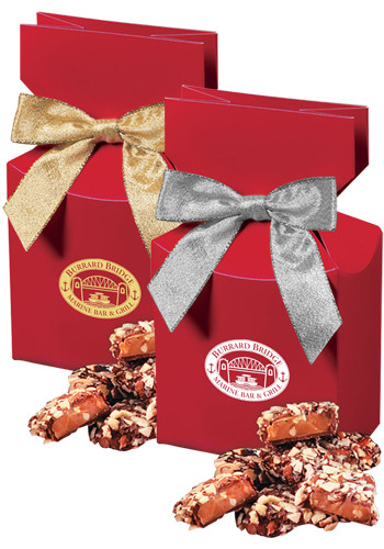 English Butter Toffees in Red Gift Box | MRRPD121