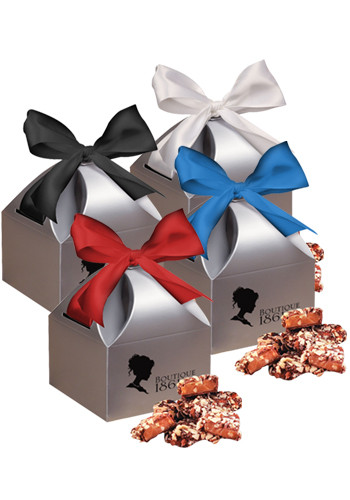 English Butter Toffees in Silver Gift Box   MRSCT121