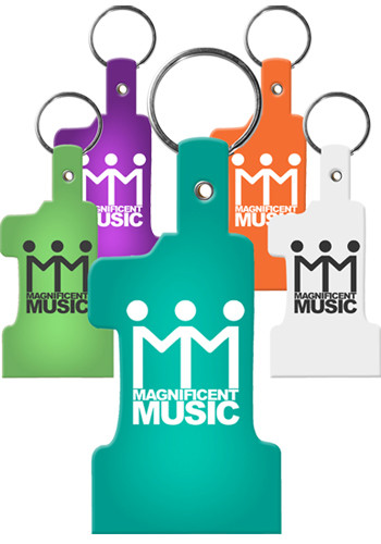 Wholesale #1 Flexible Key Tags