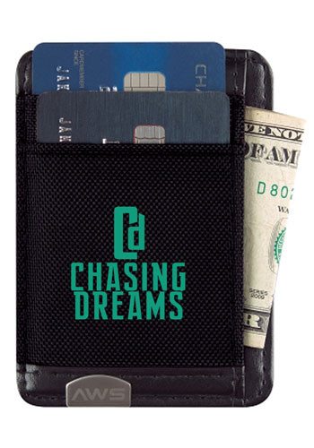 Personalized Executive RFID Money Clip Card Holders