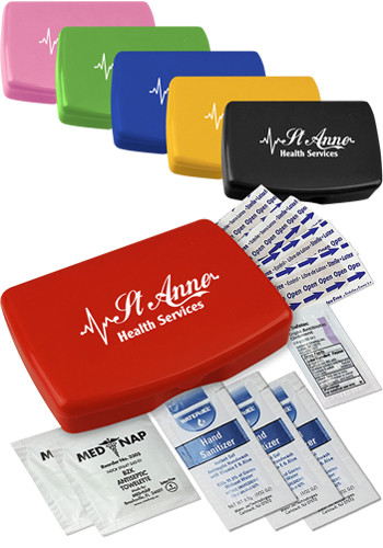 Custom Express First Aid Kits with Hand Sanitizer
