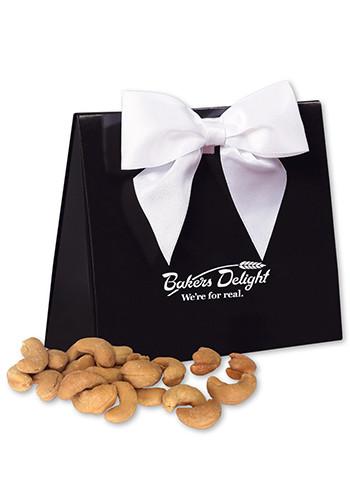 Promotional Extra Fancy Jumbo Cashews in  Black Gift Box