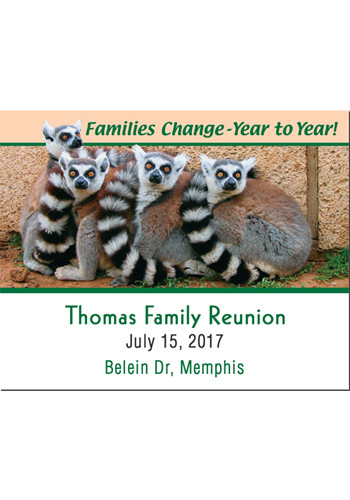 Promotional Families Change Save the Date Magnets