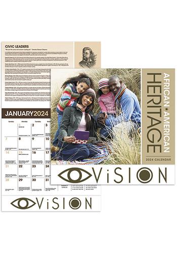 Bulk Family African-American Heritage Calendars