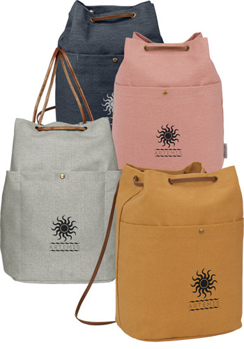 Field and Co. 16 Oz Cotton Canvas Convertible Totes   LE795014
