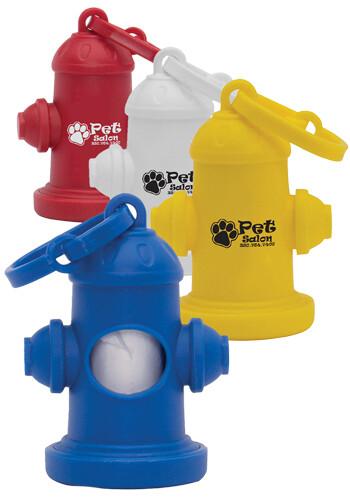 Custom Fire Hydrant Pet Waste Bag Dispensers
