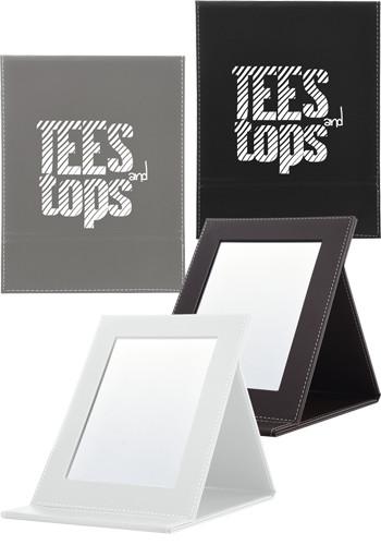 Personalized Foldaway Freestanding Vanity Mirrors