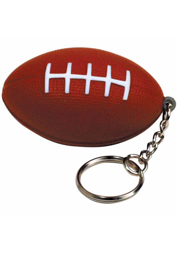 Football Stress Ball Keyrings | AL26405