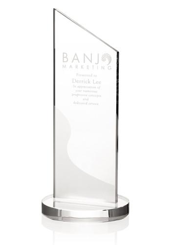 Bulk Jaffa Frost Angular Crystal Awards
