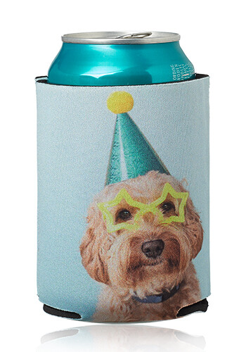 Personalized Full Color Collapsible Neoprene Can Coolers