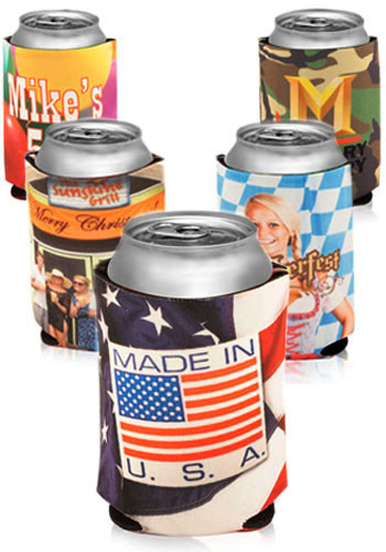 Full Color Can Coolers