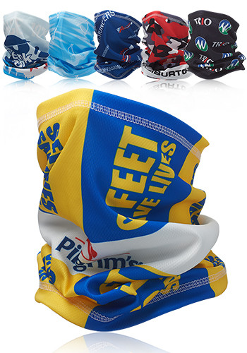 Promotional Full Color Print Neck Gaiter and Bandana