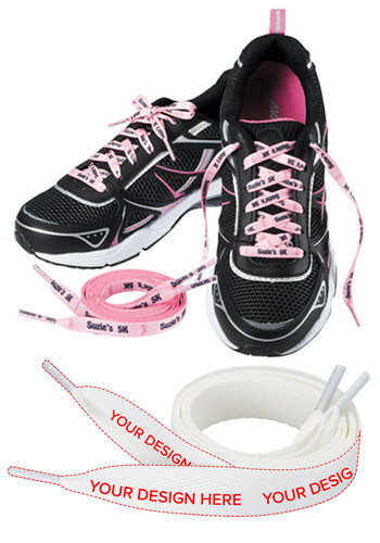 Promotional Full Color Standard 64- in. Shoelaces