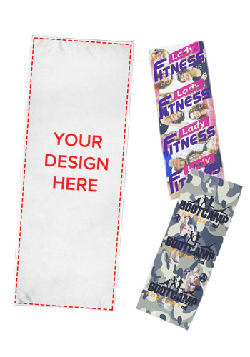 Promotional Full Color Sublimation Rainier Cooling Towels