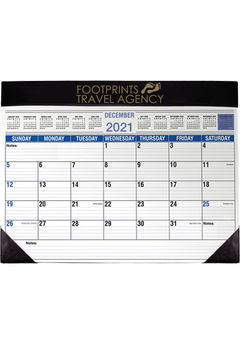 Promotional Full Size Desk Planners