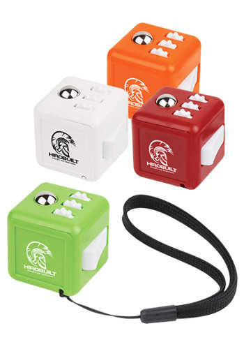 Personalized Fun Fidget Cubes with Wrist Strap
