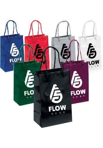 Gem Gloss Paper Bags