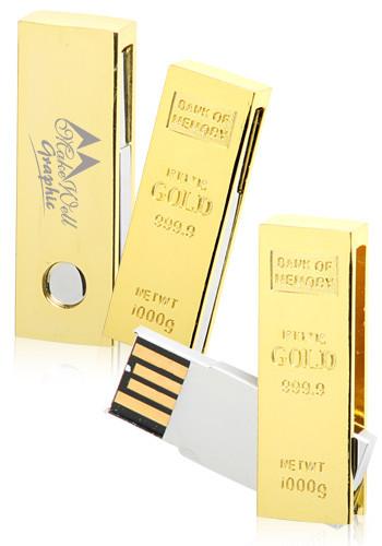 32GB Gold Ingot USB Drives | USB04432GB