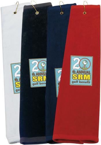 Golf Tri-Fold Towels | X10720