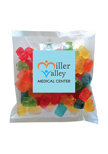 Wholesale Gummy Bears in Small Label Pack