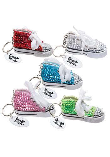 Customized Gym Shoe Bling Keytags