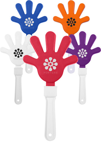 Personalized Plastic Hand Clappers