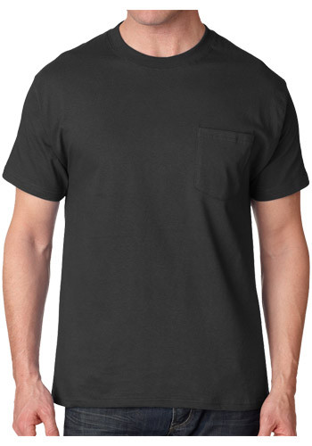 Hanes Tagless Beefy-T T-shirts with Pocket | 5190