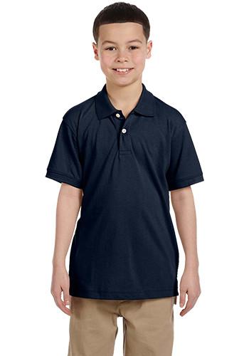 Harriton Youth Pique Polo Shirts | M265Y