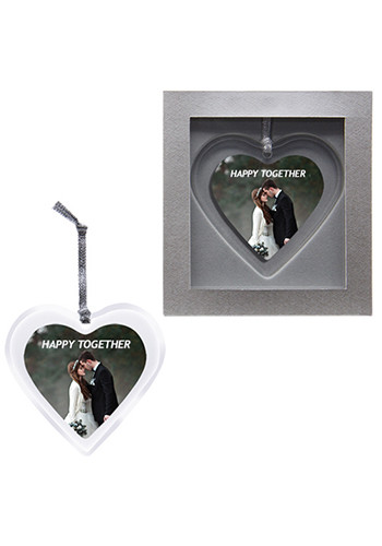 Wholesale Heart Acrylic Ornaments