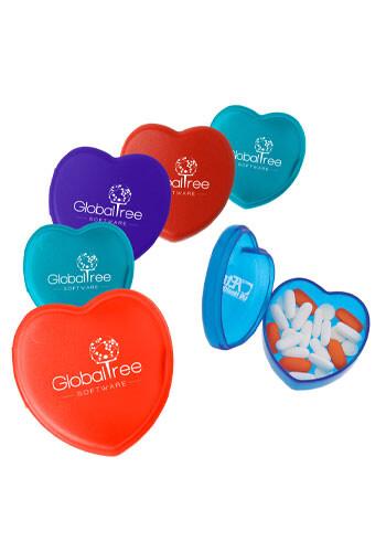 Custom Heart Pill Boxes