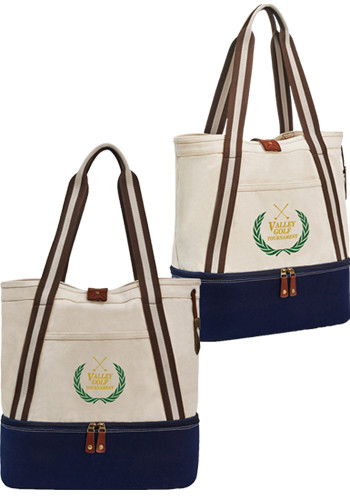 Promotional Heritage Supply Freeport Cotton Insulated Totes